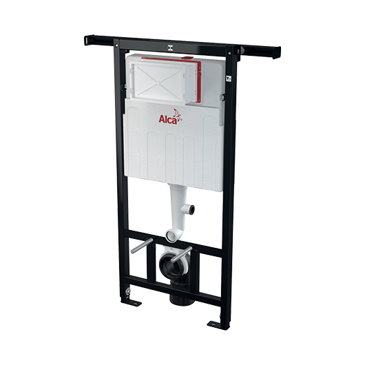 Инсталляция для подвесного унитаза AlcaPlast Jadromodul AM102/1120V (монтаж между капитальными стенами, для подключения вентиляции)