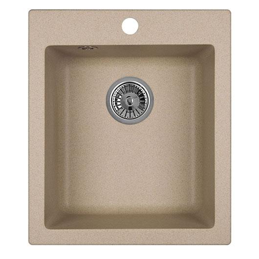 Кухонная мойка Granula GR-4201 Песок (415х490 мм)