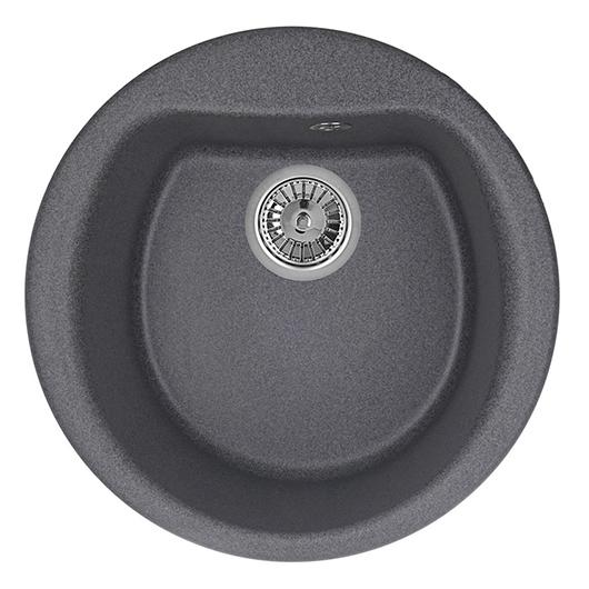 Кухонная мойка Granula GR-5101 Графит (500 мм)