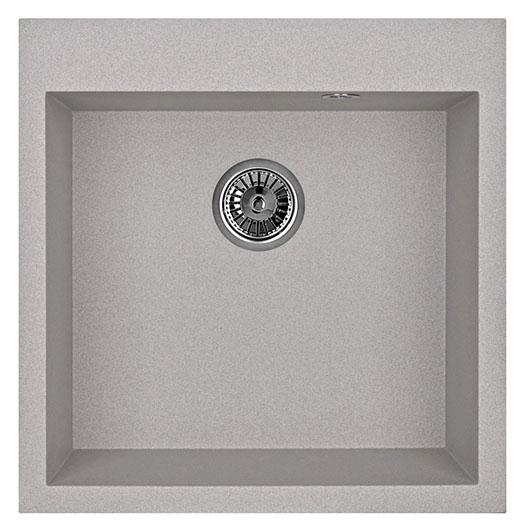 Кухонная мойка Granula GR-5102 Базальт (510х505 мм)