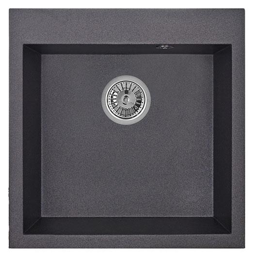 Кухонная мойка Granula GR-5102 Черный (510х505 мм)