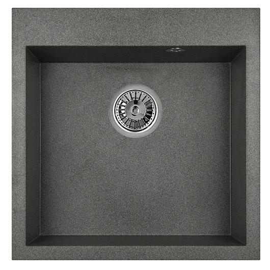 Кухонная мойка Granula GR-5102 Графит (510х505 мм)