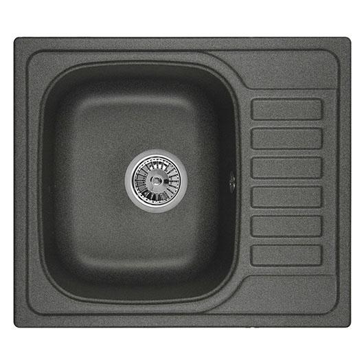 Кухонная мойка Granula GR-5801 Графит (575х495 мм)