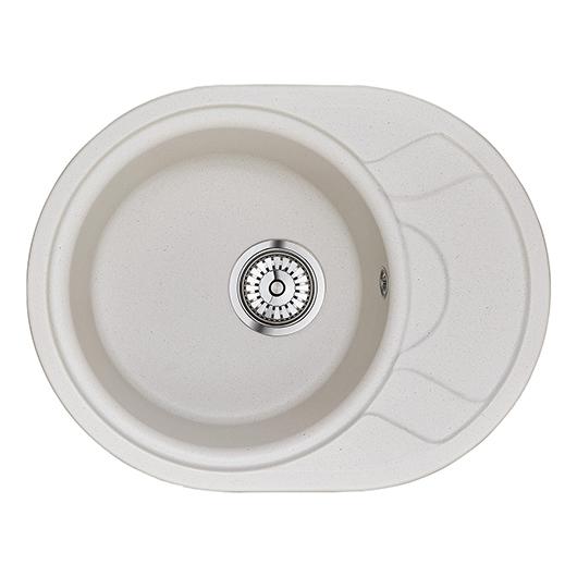 Кухонная мойка Granula GR-5802 Арктик (575×445 мм)