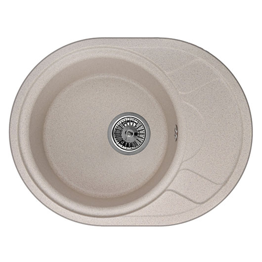 Кухонная мойка Granula GR-5802 Песок (575×445 мм)