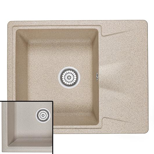 Кухонная мойка Granula GR-6201 Антик (620х500 мм)