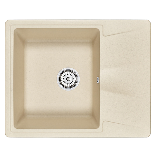Кухонная мойка Granula GR-6201 Брют (620х500 мм)