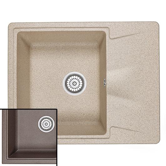Кухонная мойка Granula GR-6201 Эспрессо (620х500 мм)