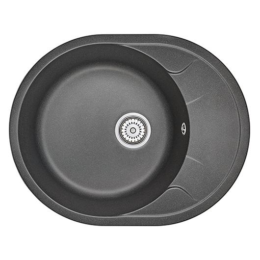 Кухонная мойка Granula GR-6301 Черный (630х500 мм)