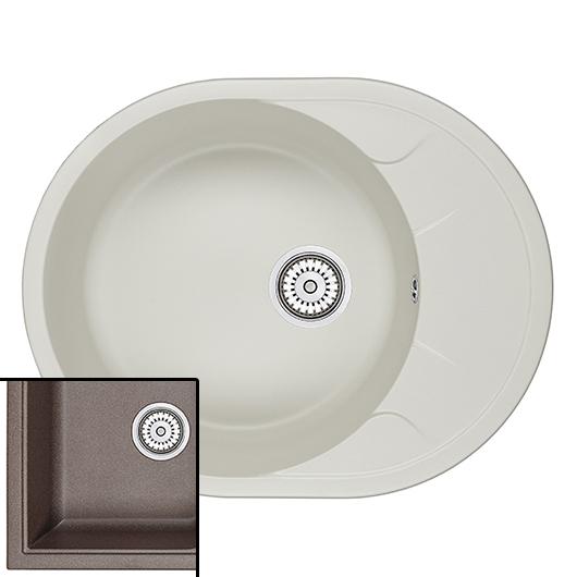 Кухонная мойка Granula GR-6301 Эспрессо (630х500 мм)
