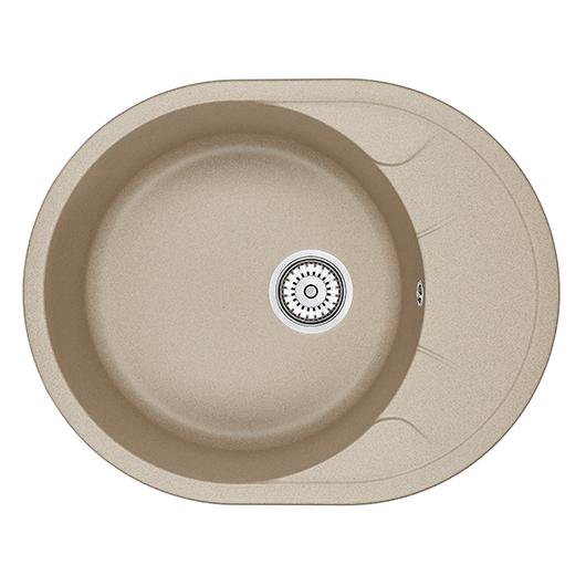Кухонная мойка Granula GR-6301 Песок (630х500 мм)