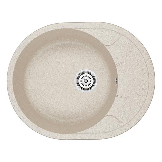 Кухонная мойка Granula GR-6301 Пирит (630х500 мм)