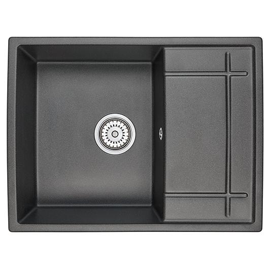 Кухонная мойка Granula GR-6501 Черный (650х500 мм)