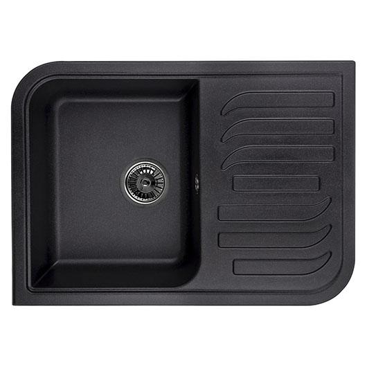 Кухонная мойка Granula GR-7001 Черный (695х495 мм)