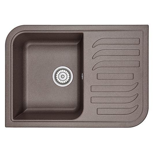 Кухонная мойка Granula GR-7001 Эспрессо (695х495 мм)