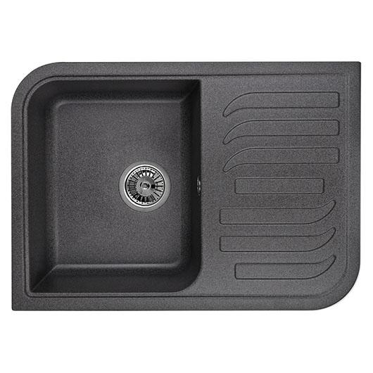 Кухонная мойка Granula GR-7001 Графит (695х495 мм)