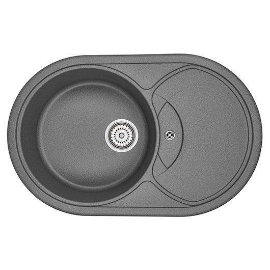Кухонная мойка Granula GR-7801 Графит (775х495 мм)