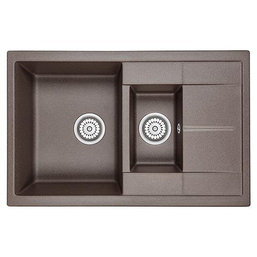 Кухонная мойка Granula GR-7802 Эспрессо (775х495 мм)