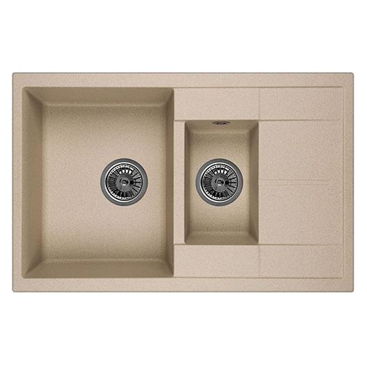 Кухонная мойка Granula GR-7802 Песок (775х495 мм)