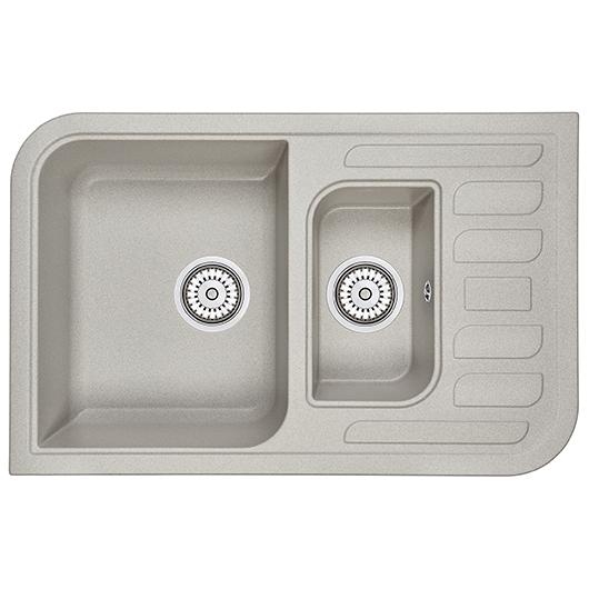 Кухонная мойка Granula GR-7803 Базальт (780х500 мм)