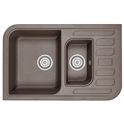 Кухонная мойка Granula GR-7803 Эспрессо (780х500 мм)