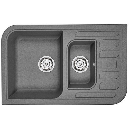 Кухонная мойка Granula GR-7803 Графит (780х500 мм)