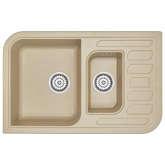 Кухонная мойка Granula GR-7803 Песок (780х500 мм)