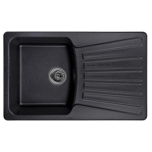 Кухонная мойка Granula GR-8001 Черный (800х490 мм)