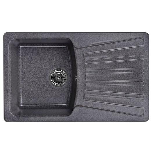 Кухонная мойка Granula GR-8001 Графит (800х490 мм)