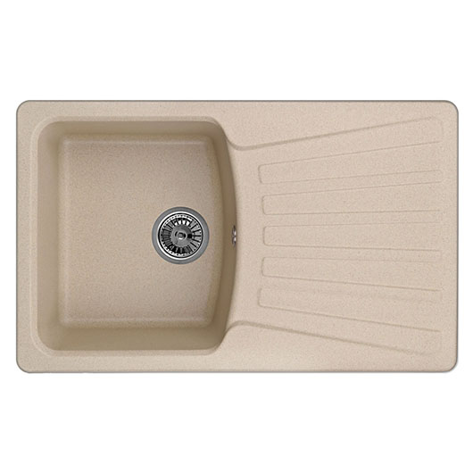 Кухонная мойка Granula GR-8001 Песок (800х490 мм)