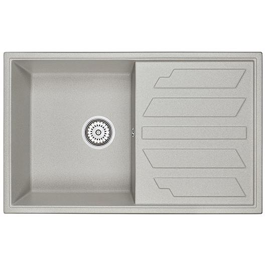 Кухонная мойка Granula GR-8002 Базальт (790х500 мм)
