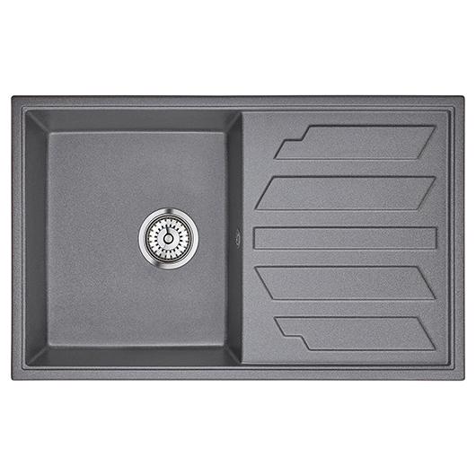 Кухонная мойка Granula GR-8002 Графит (790х500 мм)