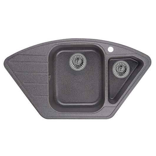 Кухонная мойка Granula GR-9101 Графит (890х490 мм)