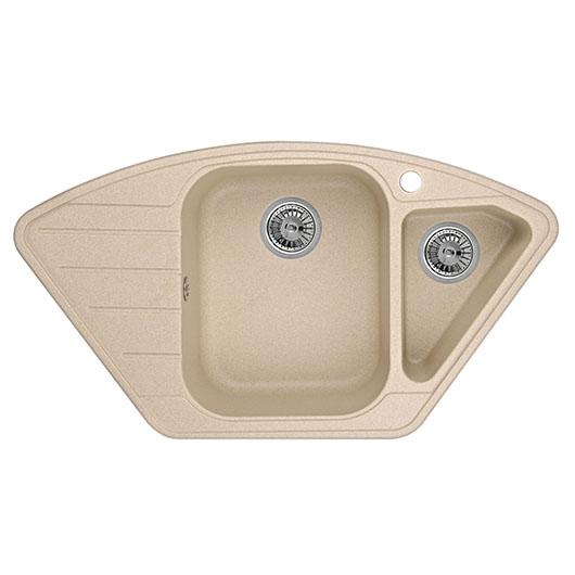Кухонная мойка Granula GR-9101 Песок (890х490 мм)