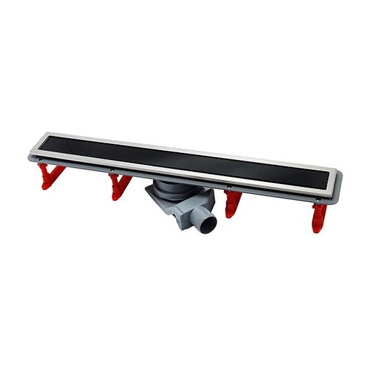 Душевой лоток Pestan Confluo Premium Line Black Glass 850 (850 мм, нержавеющая сталь/черное стекло) 13000295