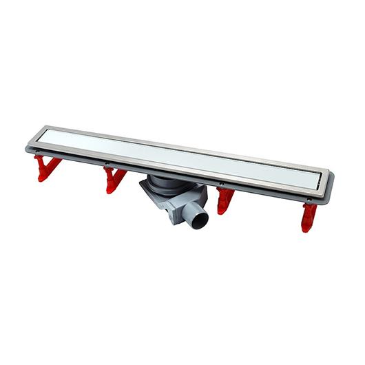 Душевой лоток Pestan Confluo Premium Line White Glass 850 (850 мм, нержавеющая сталь/белое стекло) 13000285