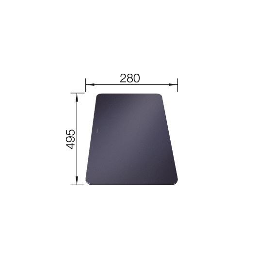 Разделочная доска Blanco 232846 (495х280мм)