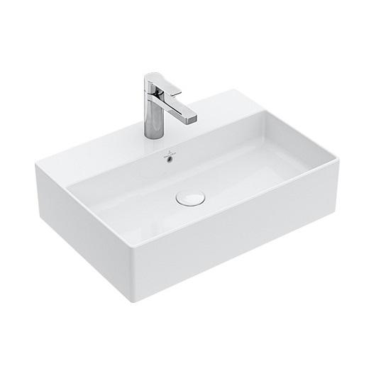 Раковина накладная Villeroy & Boch Memento 2.0 4A07 60 RW (4A0760RW) Stone White CeramicPlus (600х420 мм)