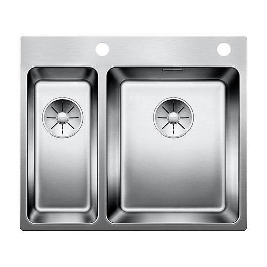 Мойка Blanco Andano 340/180-IF/A 522996 с клапаном-автоматом (зеркальная полировка)