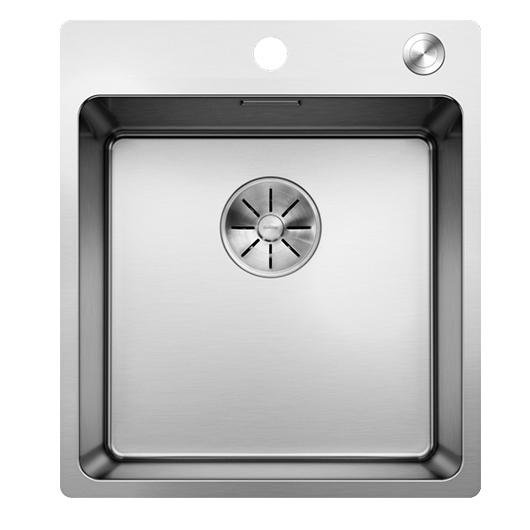 Мойка Blanco Andano 400-IF/A 525244 с клапаном-автоматом (зеркальная полировка)