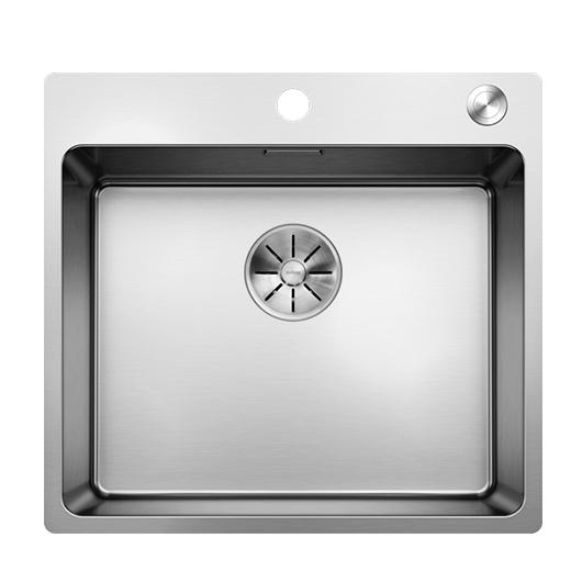 Мойка Blanco Andano 500-IF/A 525245 с клапаном-автоматом (зеркальная полировка)