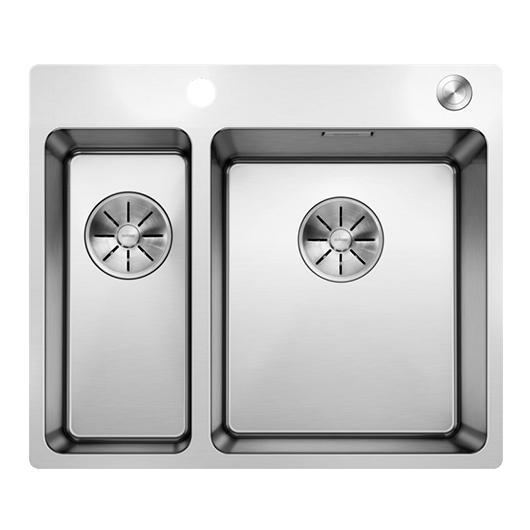 Мойка Blanco Andano 340/180-IF/A 525247с клапаном-автоматом (зеркальная полировка)