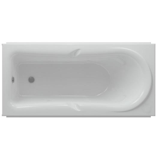 Ванна акриловая Акватек Леда 170х80 без гидромассажа (LED170-0000047)