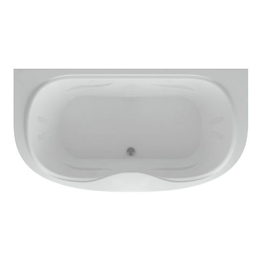Ванна акриловая Акватек Мелисса 180х95 без гидромассажа (MEL180-0000006)