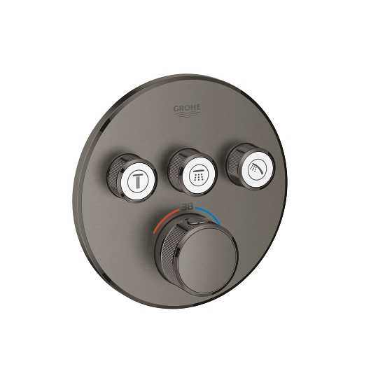 Термостат Grohe Grohtherm SmartControl 29121AL0 (темный графит, матовый)