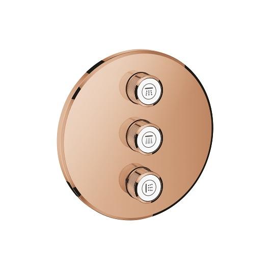 Вентиль для душа Grohe Grohtherm SmartControl 29122DA0 (теплый закат)