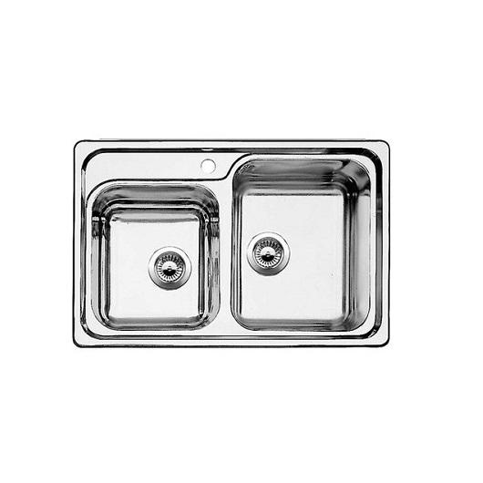 Мойка Blanco Classic 8 507543 чаша справа (зеркальная полировка)