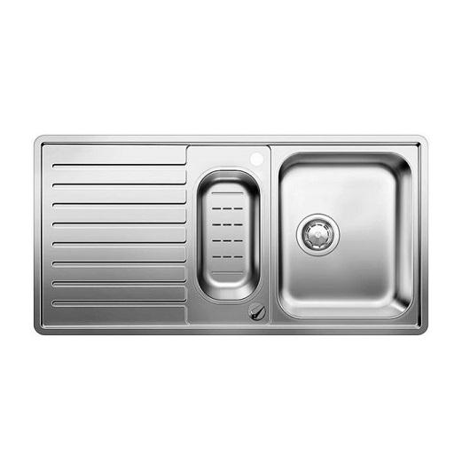 Мойка Blanco Classic Pro 6 S-IF 516852 с клапаном-автоматом (зеркальная полировка)