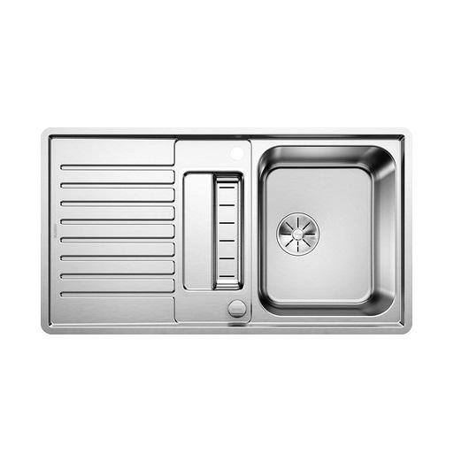 Мойка Blanco Classic Pro 5 S-IF 523663 с клапаном-автоматом (зеркальная полировка)