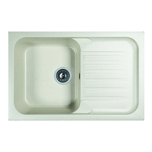 Кухонная мойка Dr.Gans Адель 780 25.090.C0780.401 белый (780х510 мм)